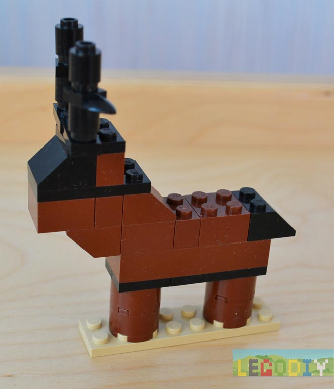 simple lego deer