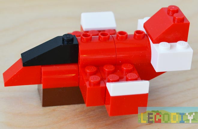 how to make a small lego plane