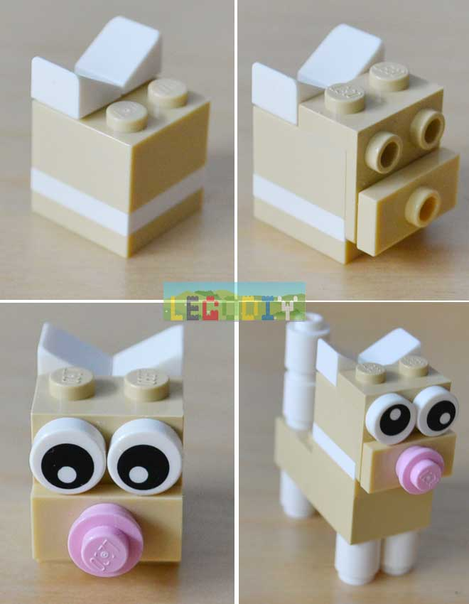 lego kitten head