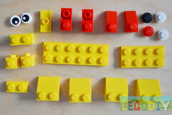 lego lion bricks
