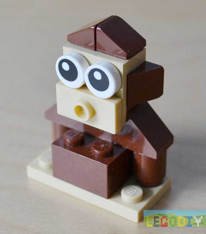 how to make lego animals instructions
