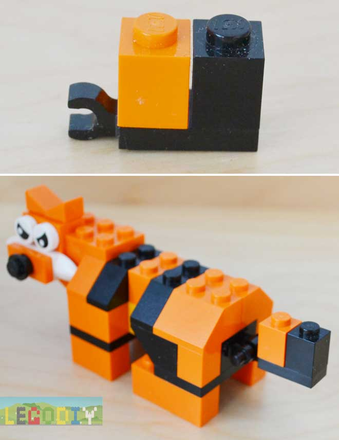 lego tiger tail