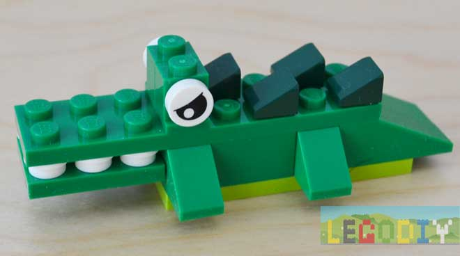 little lego crocodile