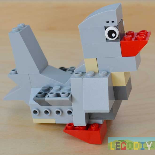 Lego Little Bird Instructions