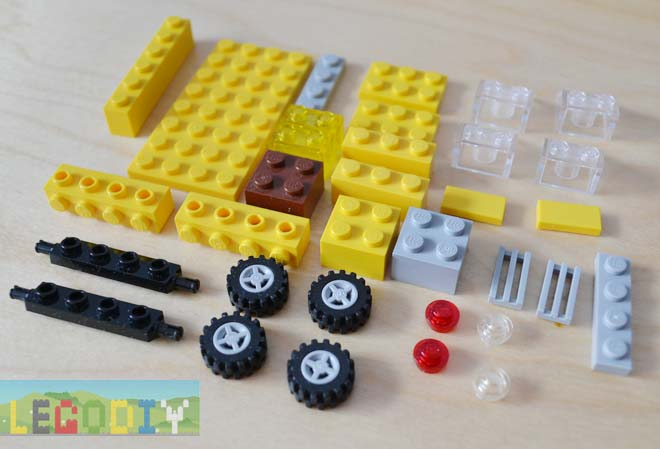 bricks for lego car