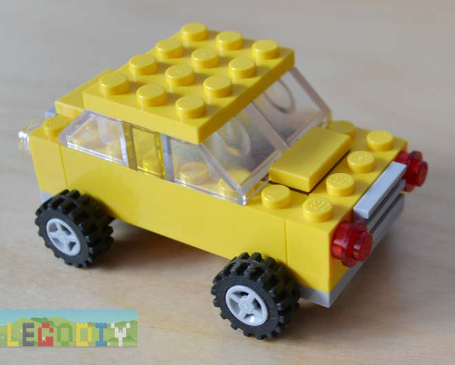 LEGO yellow car