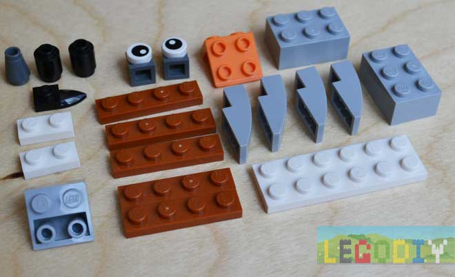 bricks for lego mosquito