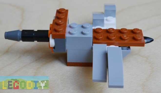 lego mosquito side view