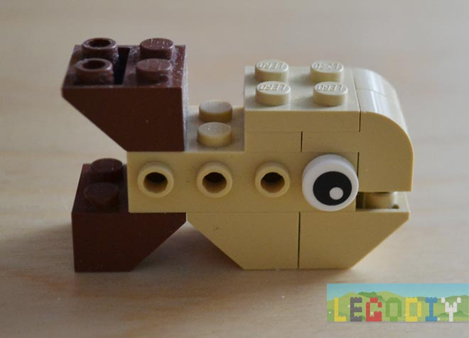 LEGO Brown Fish